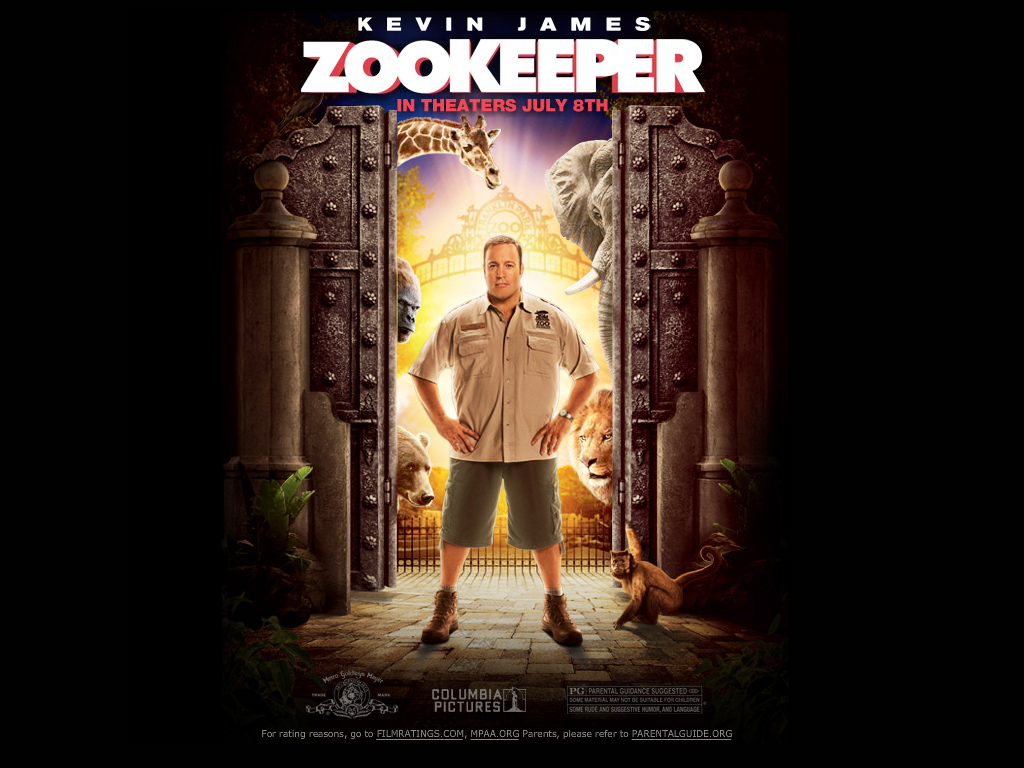 A To Z 3d Name Wallpaper Zookeeper Movie Wallpaper 2011 Wallpapers Pictures Lovers