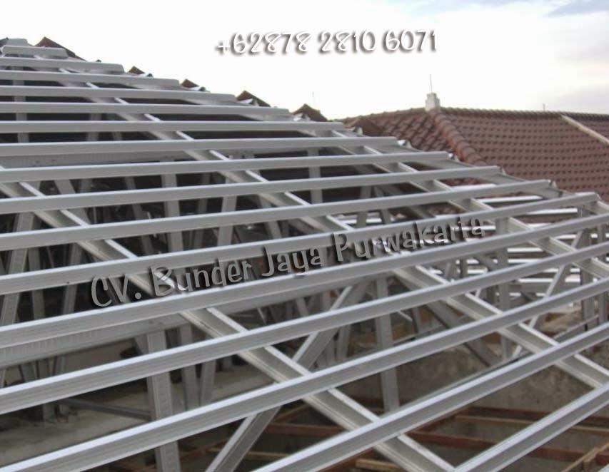 jasa konstruksi atap baja ringan purwakarta murah
