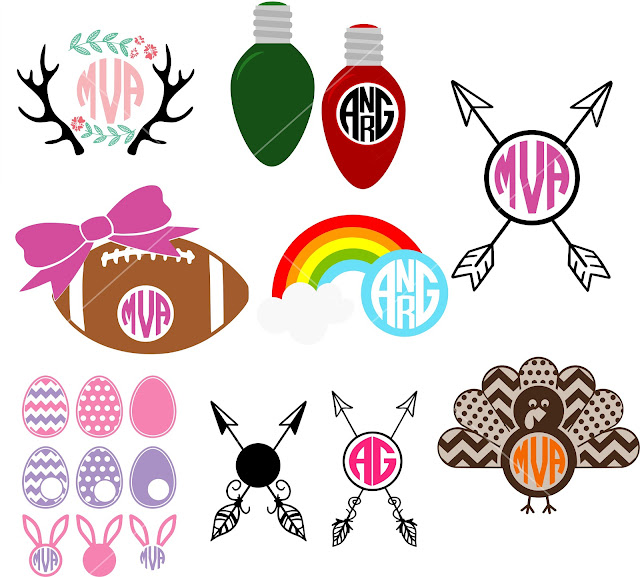 silhouette cameo monogram, Monogram designs, monogram design, free monogram designs, monogram designer,