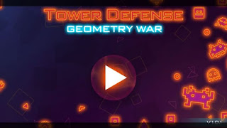 Tower Defense: Geometry War Apk v1.2.3 Mod Unlimited Money Terbaru