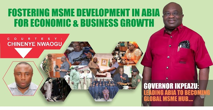 @GovernorIkpeazu PhD: Beacon of Hope for MSMEs