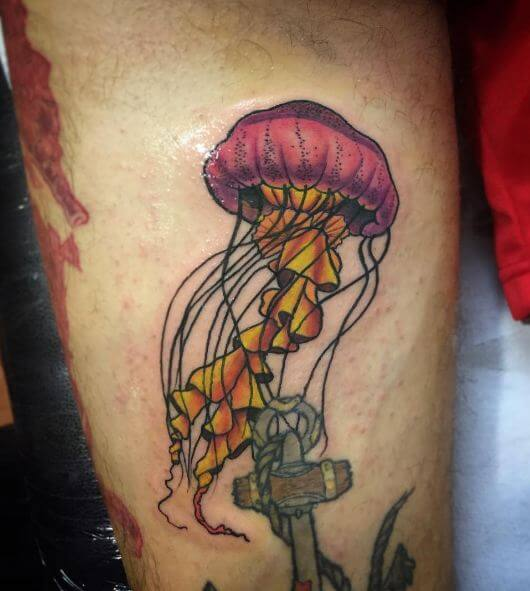 50+ Stunning Jellyfish Tattoo Designs & Ideas (2018 ...