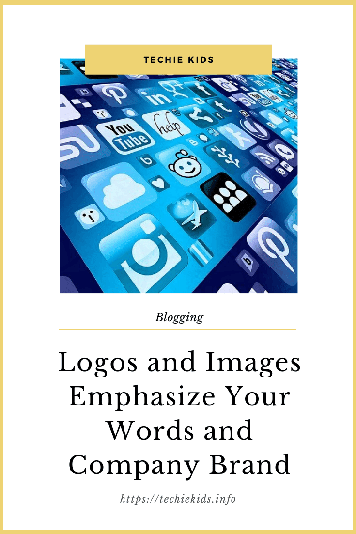 Logos and Images Emphasize Your Words and Company Brand