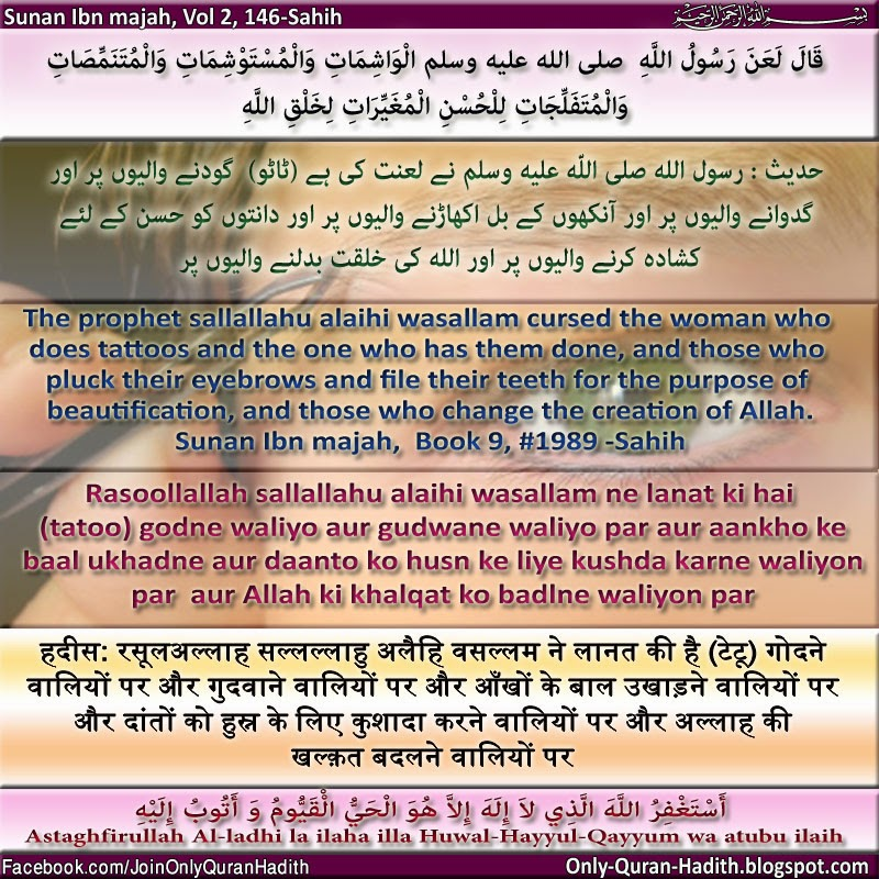 Only Quran Hadith Designed Quran And Hadith Mafhum E Hadith