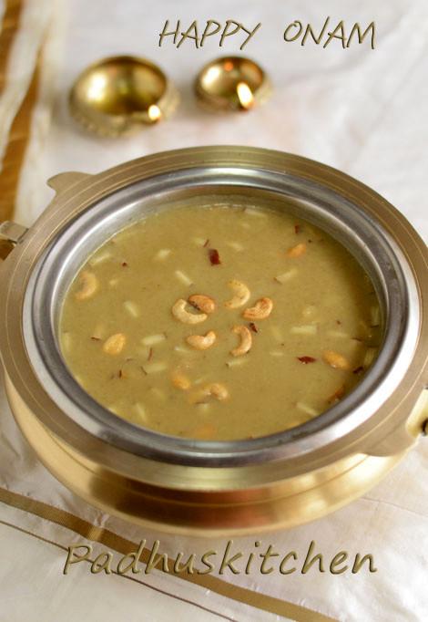 Ada Pradhaman Recipe Kerala Style With Jaggery And