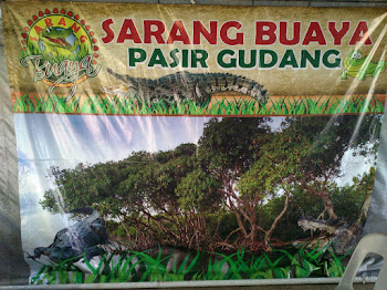 Taman Sarang Buaya Antara Tarikan Menarik di Tanjung Langsat Pasir Gudang