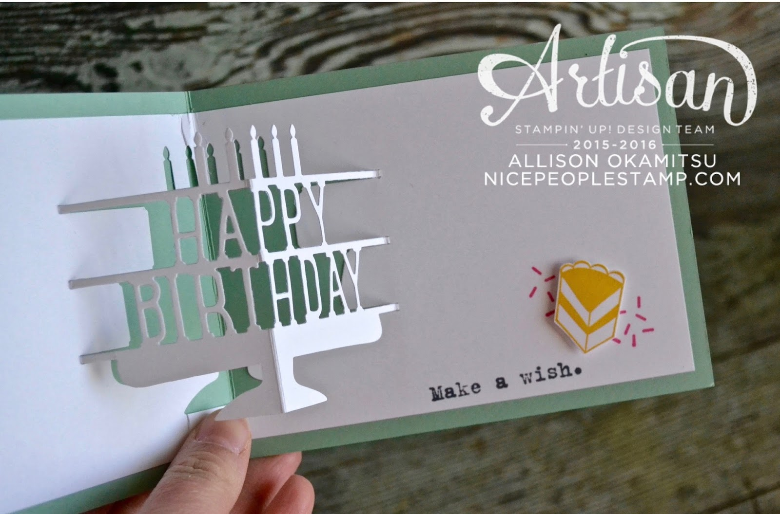 Stampin' Up! Canada: Party With Cake