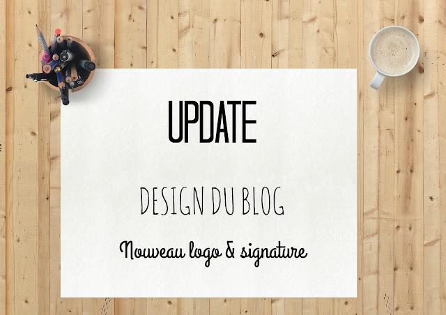 Nouveau logo et nouvelle signature sur le blog