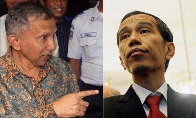 Giliran Istana Lemparkan 'Molotov' Keras untuk Amien Rais Akibat Tuding Jokowi lakukan Pengibulan