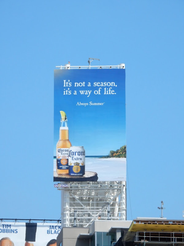 Corona Extra always summer billboard