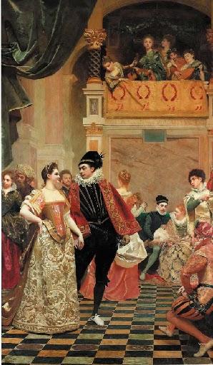 Gustave Jean Jacquet - La pavane - 1883