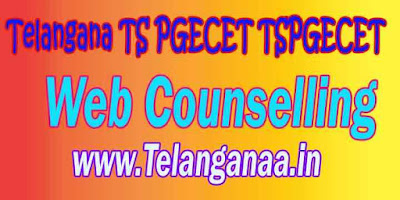TSPGECET 2019 Admission Web Counselling