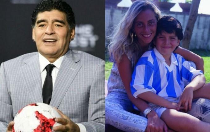 Después de 30 años, Maradona y Cristiana Sinagra cenaron juntos