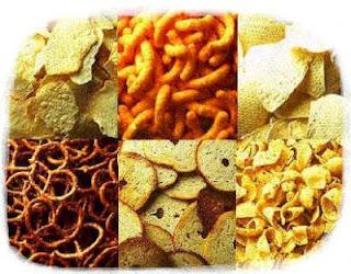 Makanan ringan adalah punca kegemukan