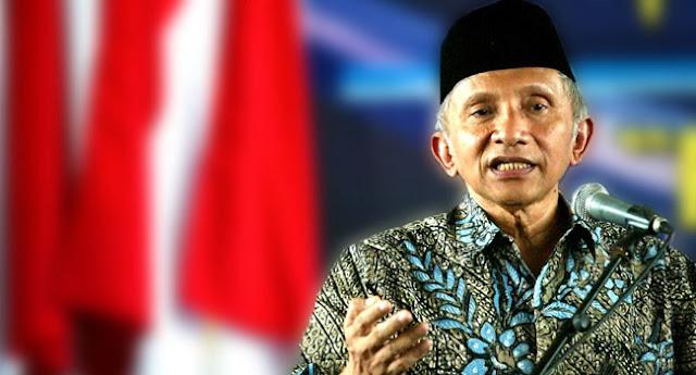 Amien Rais: Mas Jokowi Jangan Asik Memecah Umat Islam, Lihat Masalah Di Papua