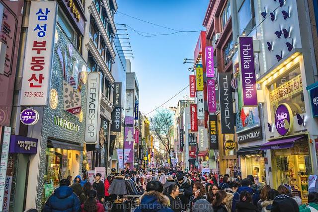 pakej murah korea, pakej korea 2016, paker bercuti di korea, trip bajet korea