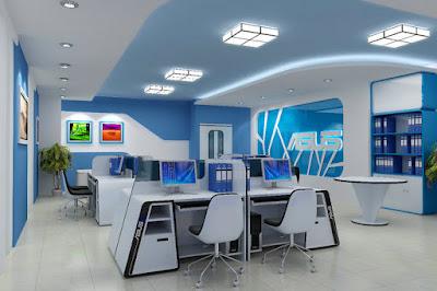 Văn phòng làm việc chuyên nghiệp dành cho các nhân viên kỹ thuật