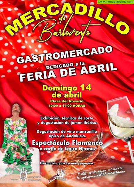 Mercadillo Barlovento - Gastromercado dedicado a la Feria de Abril