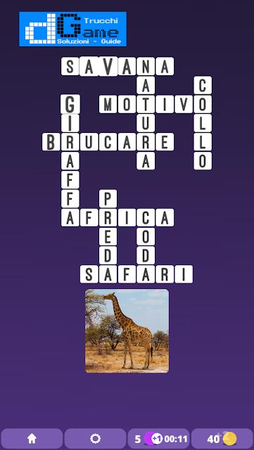 Soluzioni One Clue Crossword livello 10 schemi intermedia (Cruciverba illustrato)  | Parole e foto