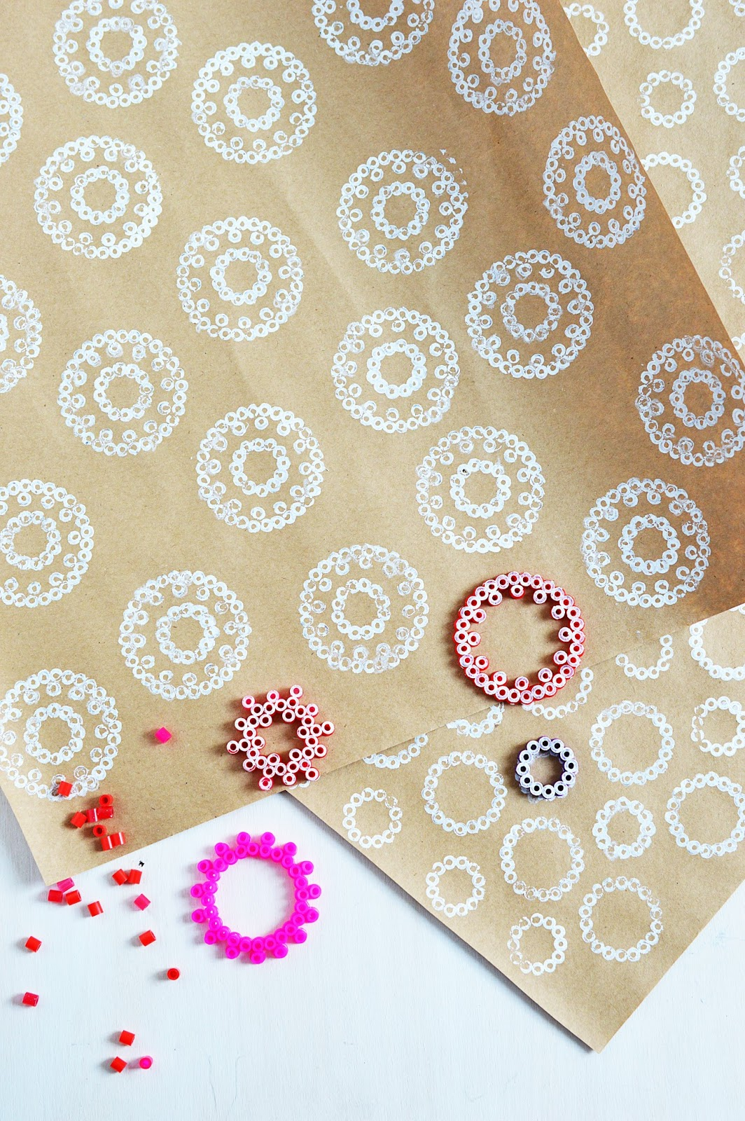 DIY Iron-On Bead Stamps | Stamping with Beads | Motte's Blog