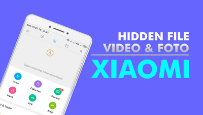 Cara Menyembunyikan dan Menampilkan Foto di Smartphone Xiaomi
