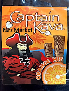 Captain Kava Powder with Orange Flavor at Pars Market Columbia Maryland 21045