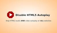 Disable HTML5 Autoplay Eklentisi ile Web Sitelerinin Sesini Kesin