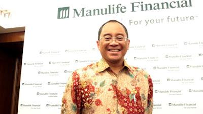 bapak Legowo Kusumonegoro ,Presdir PT.Manulife Aset Manajemen Indonesia (MAMI)