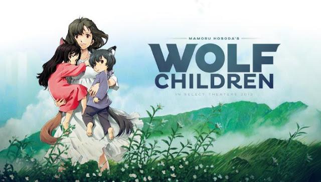 Best  Madhouse Anime list - Ookami Kodomo no Ame to Yuki (Wolf Childern)