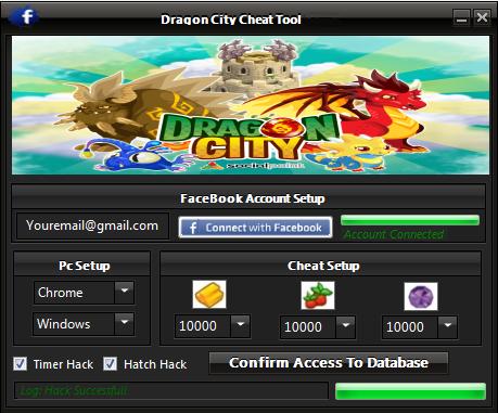 cet outil de piratage dragon city