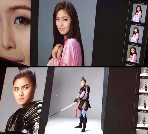 Kim Chiu is Disney's Mulan