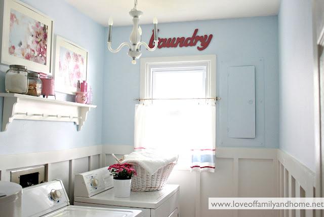 Laundry room paint color