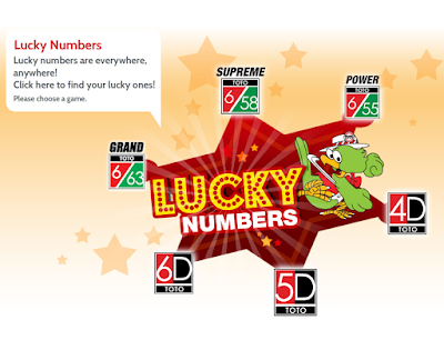 How to get free Toto 4D Lucky Number