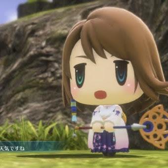 World of Final Fantasy se actualizará a su versión 1.02 el 12 de enero en Japón