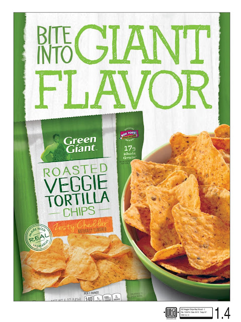 Trying Green Giant Veggie Chips, Serenity Now blog #spon
