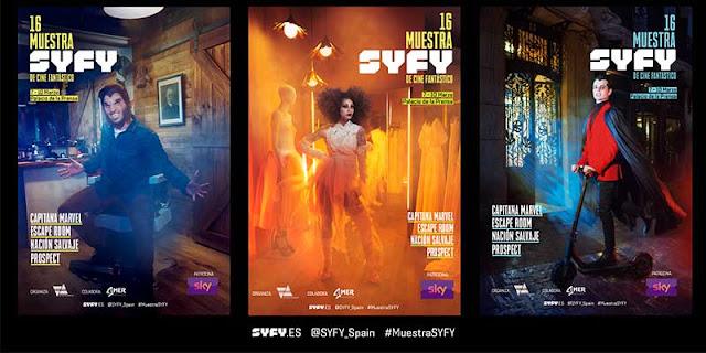 XVI Muestra SYFY de Cine Fantástico, Madrid, Programación