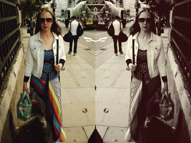 Flashback Friday: London Travels With Mini Me
