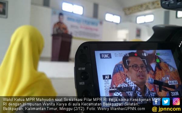 Mahyudin: Jangan Pilih Politikus yang Main Uang