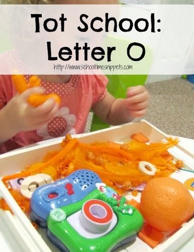 Tot School Letter O Activities