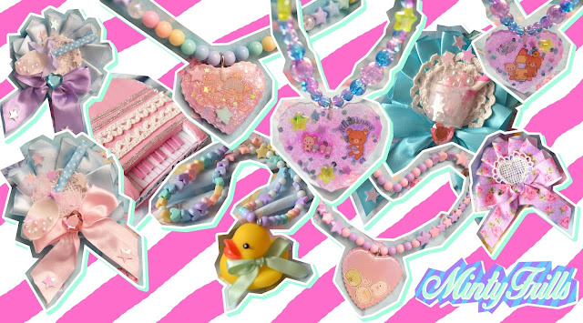 cute sweet lolita duckie uchuu pastel accessories jewelry