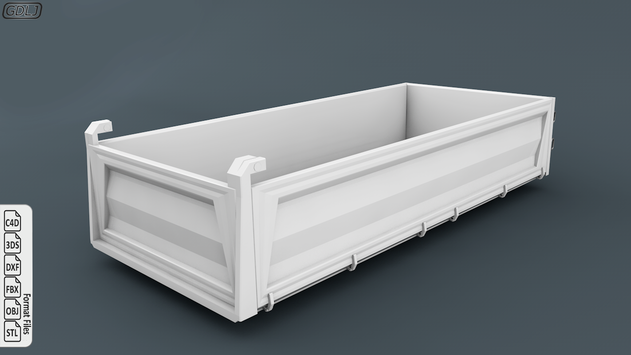 Tipper Truck 3D Model Ready to 3D Print