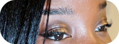 I knew the eyes was an important piece to set the mood.. so I decided to try out the Sleek The Gold Stand I-Lust eyeshadow palette ($11.49 USA).