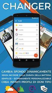 sfondi dinamici per android personalizzati
