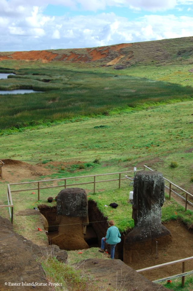 Easter Island Heads Bodies