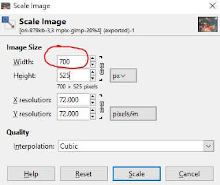 Reduce the image width to 700 while maintaining the ratio