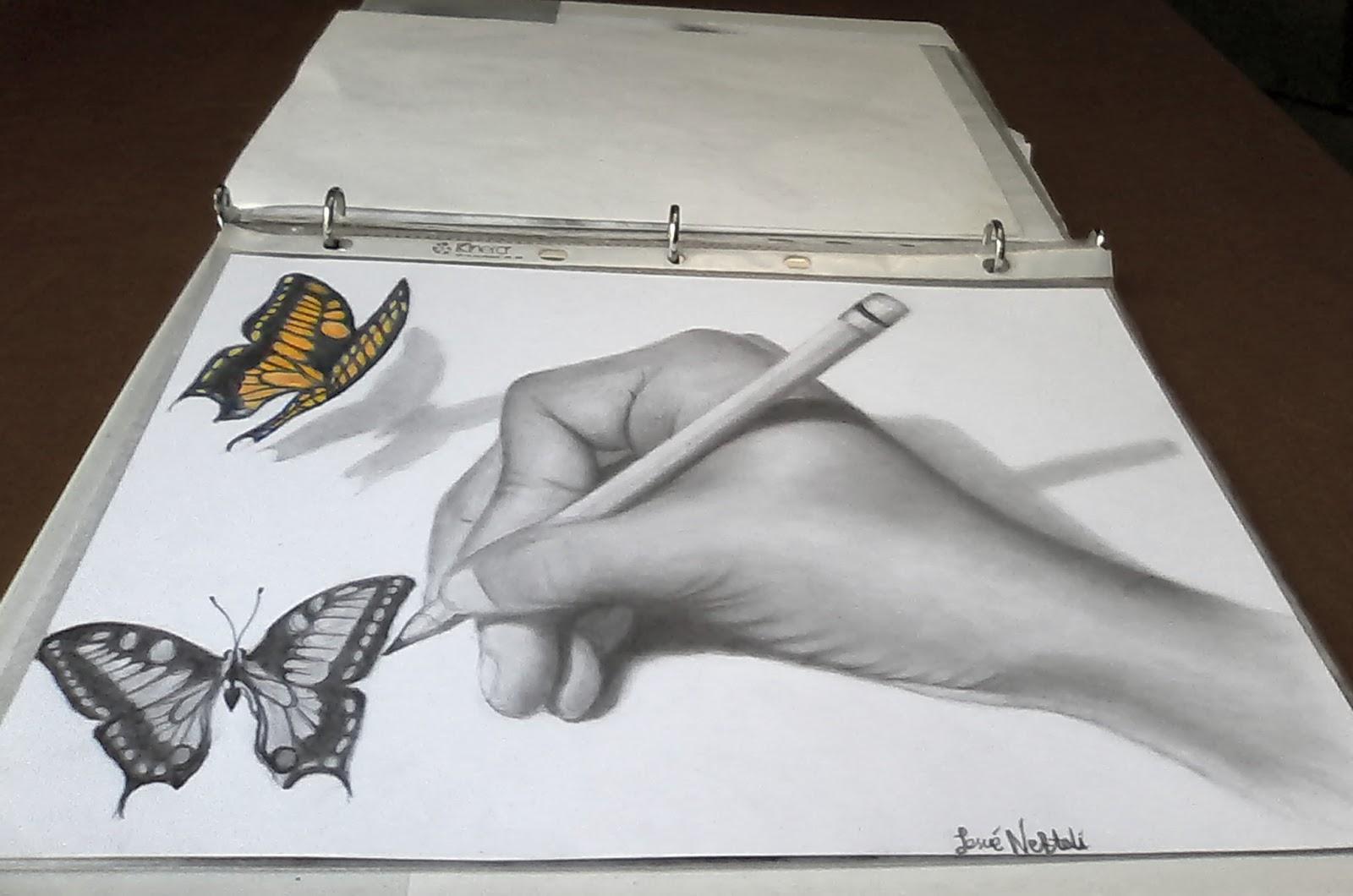 Josue Neftali Artist 3d Drawings Dibujos En 3d
