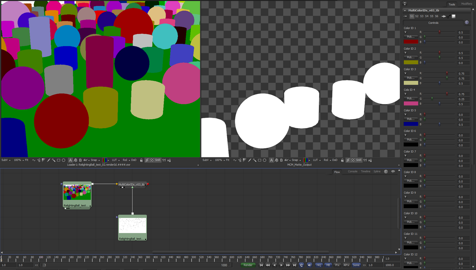 thomas banner fusion macro for using v ray renderid and coverage passes