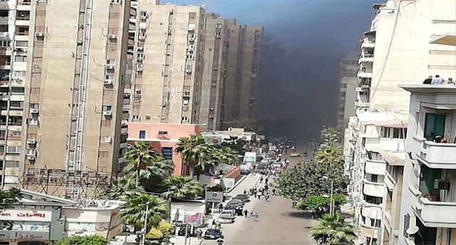 تفاصيل إنفجار سيارة حراسة مدير امن الإسكندرية