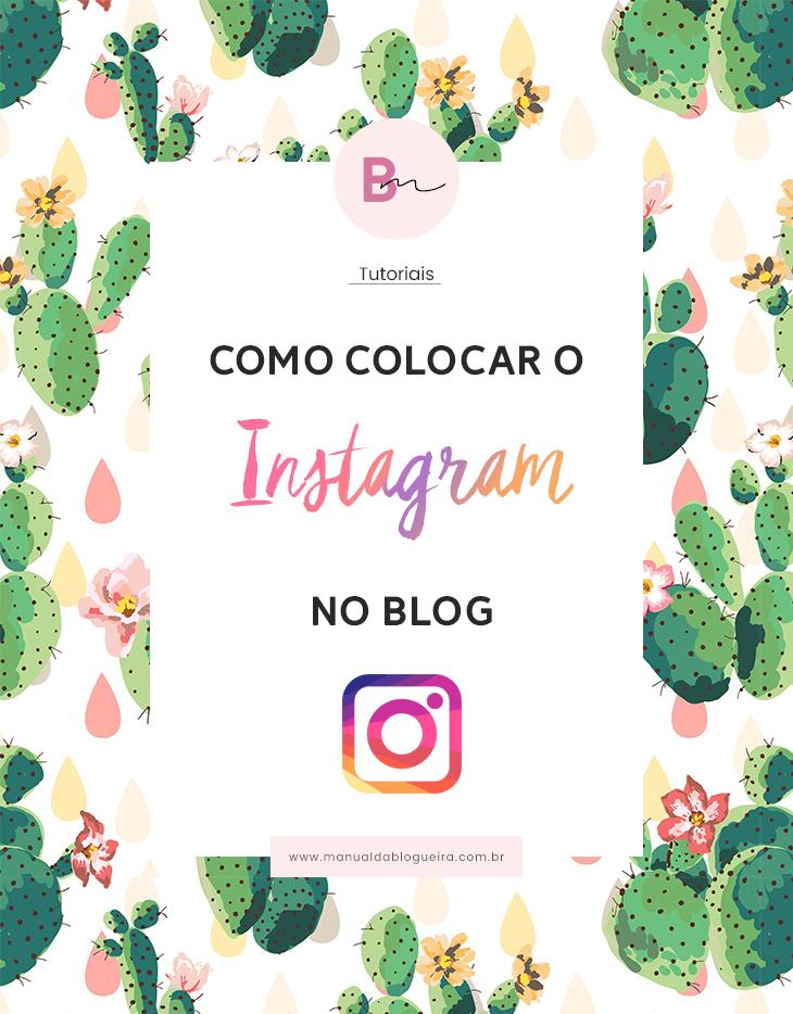 instagram no blog