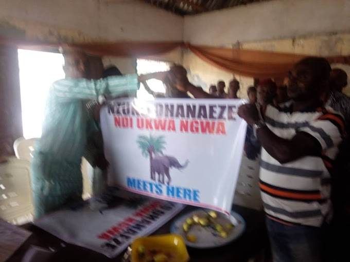 Nzuko Ohaneze Ukwa Ngwa inaugurated the executives of the nine local governments and wards of Ukwa Ngwa land.